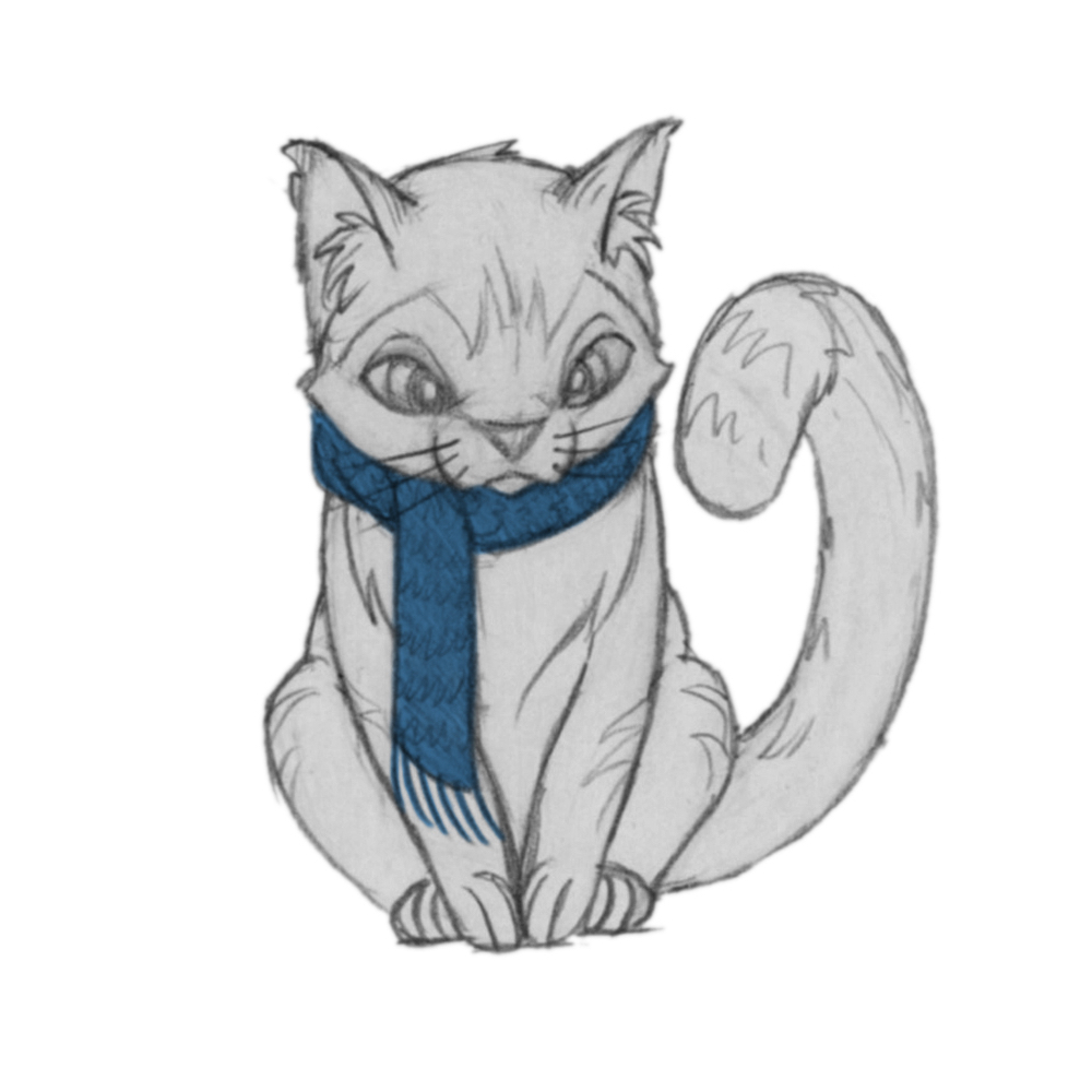 An Excerpt Willow Tree's Gift, Chapter 3: The Tabby Cat with the Blue Scarf